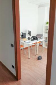 ufficio postazione doppia coworking T2S